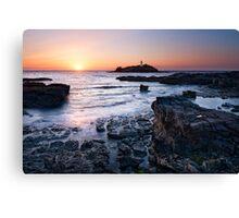 Cornwall - Godrevy Lighthouse Canvas Print