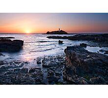 Cornwall - Godrevy Lighthouse Photographic Print