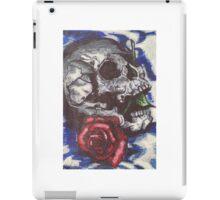 Skull and Rose Design iPad Case/Skin