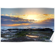 Sunday Sunrise over Long Reef Poster