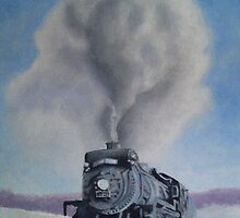Steam Train by Ian Morton