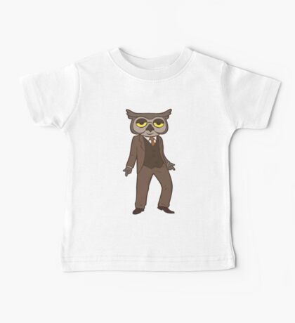 Mr Owl Baby Tee