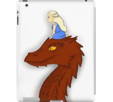 Dany and Smaug iPad Case/Skin
