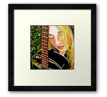 SOUL SISTER - Little Archies Exhibition 29/8/10 Framed Print