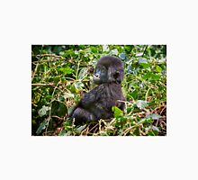 funny and cute juvenile mountain gorilla  Unisex T-Shirt