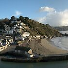 Overlooking Looe, UK by Hans Kool
