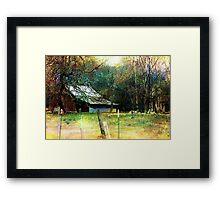 Barn Charm Framed Print