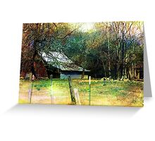 Barn Charm Greeting Card