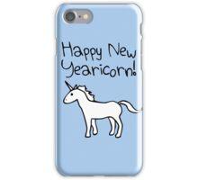 Happy New Yearicorn iPhone Case/Skin