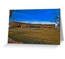 Powder River County (Montana) Court House Greeting Card