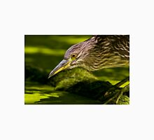 Black Crowned Night Heron Unisex T-Shirt