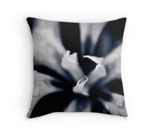 ...shiver at the thought of you... Throw Pillow