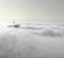A fogy Melbourne at dawn by Lucas D'Arcy
