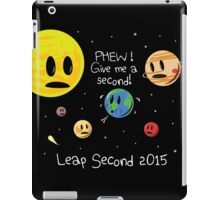 Leap Second 2015 iPad Case/Skin