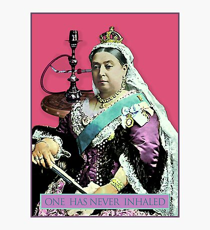 The Queen and the Hookah Photographic Print