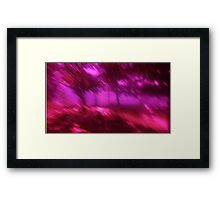 Hollow Hill Trees n°5 Framed Print