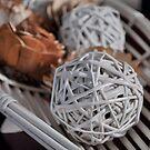 Wicker  Balls by Karen Duffy