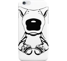 English Bull Terrier Sit Design iPhone Case/Skin