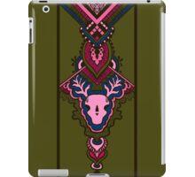 pattern with deer skull iPad Case/Skin