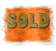 sold Poster