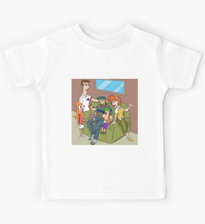 The Flynn Fletcher Family  Kids Tee