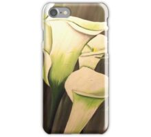 White Calla Lily iPhone Case/Skin