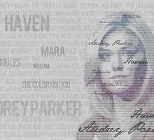 Audrey Parker type portrait by Sara  Hassan