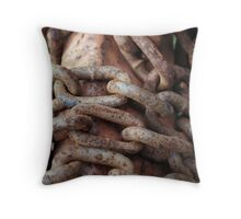 No Missing Link Throw Pillow