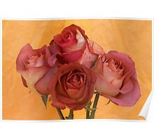 Four Roses Poster