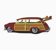Woody Car Kids Clothes