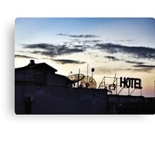 Room with a beautiful view Hanoi Vietnam Canvas Print
