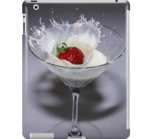 Straberry cocktail iPad Case/Skin