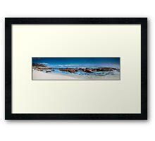 Moses Beach Wilyabrup Beach WA :  Framed Print
