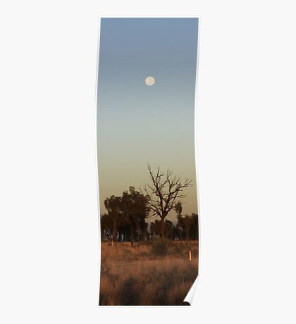 Outback Moon Poster