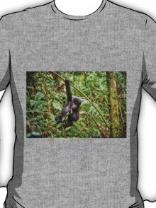 funny and cute juvenile mountain gorilla T-Shirt
