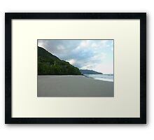 Where the Rainforest meets the Reef Framed Print