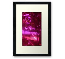 Hollow Hill Trees n°3 Framed Print