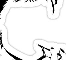 Audrey Hepburn vacant expression Sticker