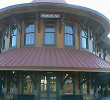 Hamlet Station - Main Entrance by Sheila Simpson