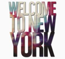 Welcome to New York Baby Tee
