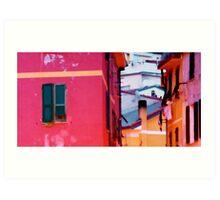 Pink walls Art Print