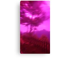Hollow Hill Trees n°1 Canvas Print