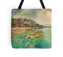 View from Avalon Bridge Isla Mujeres Tote Bag