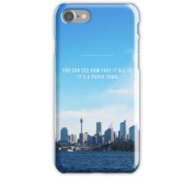 Paper Towns John Green iPhone Case/Skin