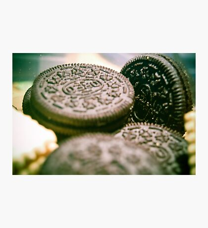 Oreo Biscuits Photographic Print