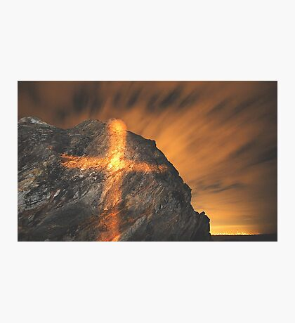 GLOWING GOLD  Photographic Print
