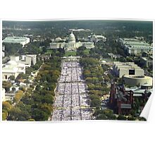 The Quilt on the National Mall - Washington D.C Poster