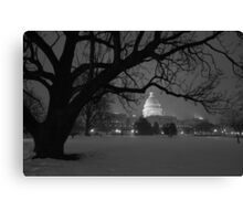 The United States Capital - Washington D.C Canvas Print