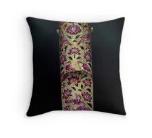 Mughal Dagger Hilt Throw Pillow