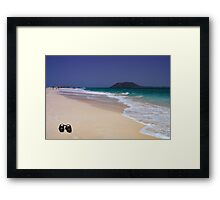 Wish You Were Here...Fuerteventura Framed Print